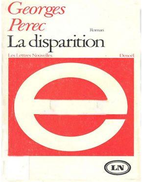 CoupdeCoeur_Perec_Ladisparition